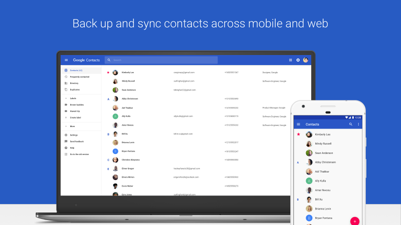 Google Contacts Latest Version Review for Android