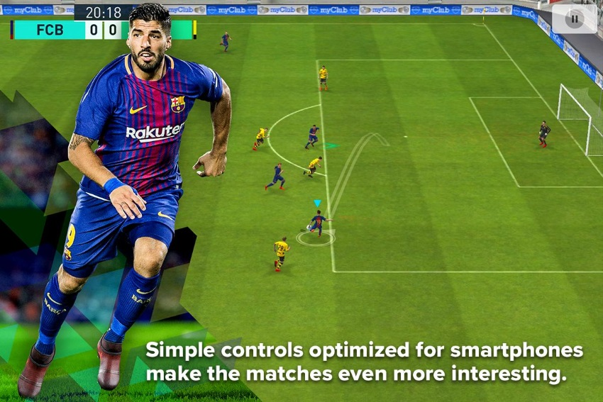 PES 2018 PRO EVOLUTION SOCCER Full Unlimited APK Free Download