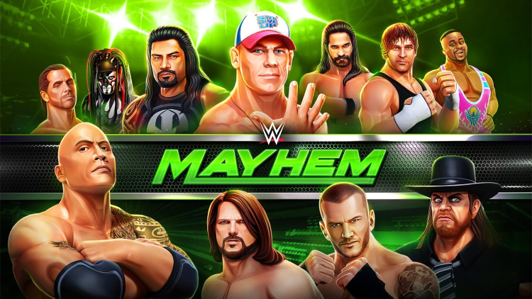 WWE Mayhem Latest Version Review for Android